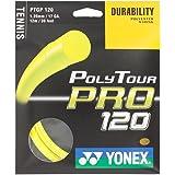 Yonex Poly Tour Pro 17 120 Tennis Racquet String Yellow