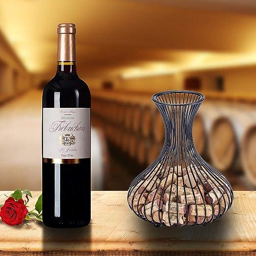 liuxi9836 - Tapón de Vino para almacenaje, Cesta de Almacenamiento ...