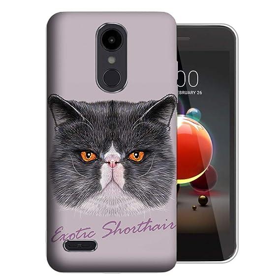 Amazon com: Exotic Shorthair Cat Case for LG Aristo 3
