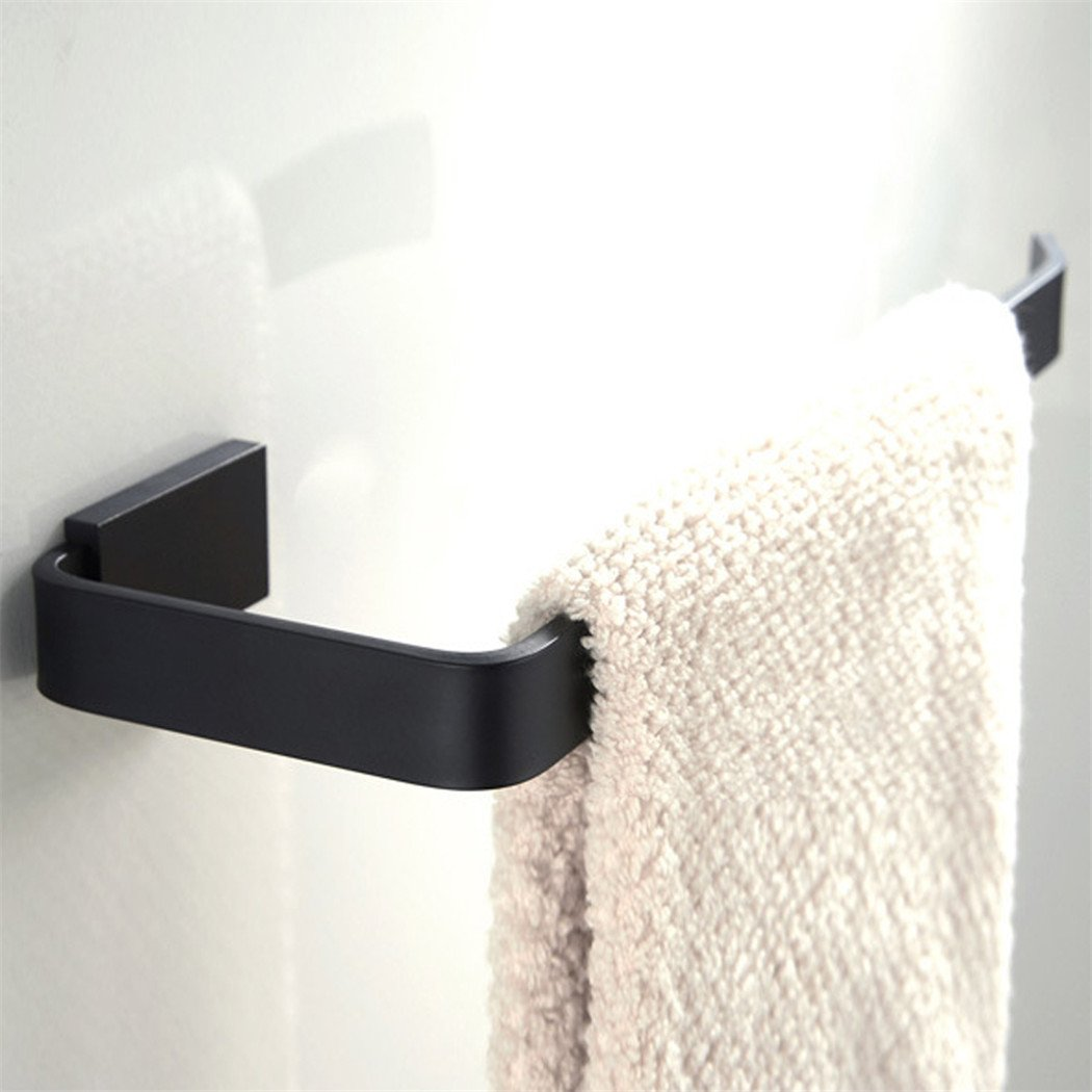 BigBig Home Towel Ring, 10 Inch Brass Towel Holder for Bathroom, Bathroom Accessroies Antirust Oil Rubbed Bronze Finish Wall Mount.