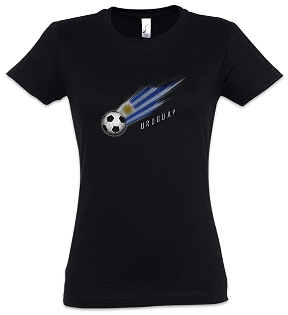 Urban Backwoods Uruguay Football Comet Mujer Girlie Women T-Shirt Tamaños XS – 2XL
