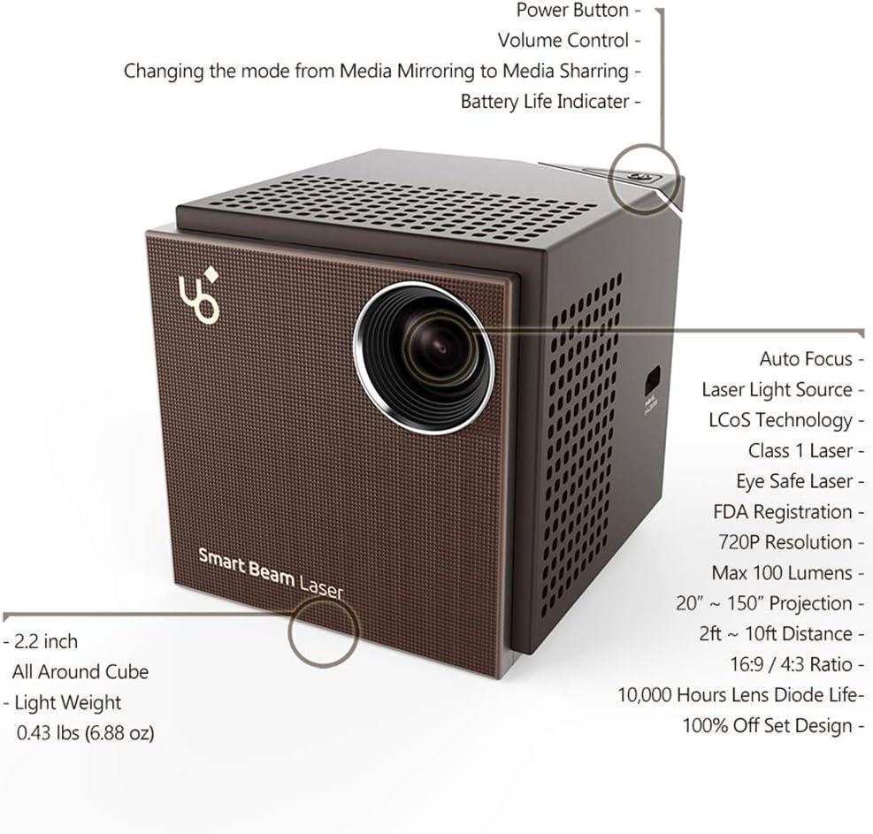 SK UO, el proyector láser Inteligente: Amazon.es: Electrónica