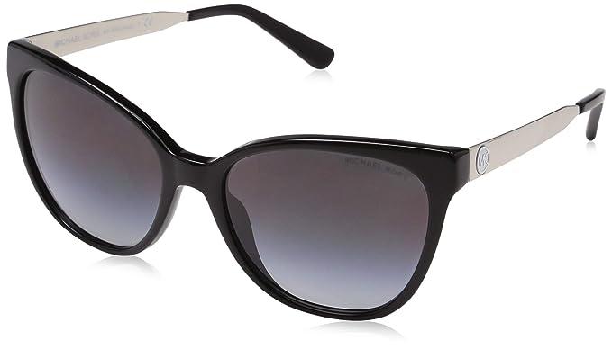 9079e55f2c9e5 Michael Kors NAPA MK 2058 BLACK GREY SHADED women Sunglasses  Amazon ...