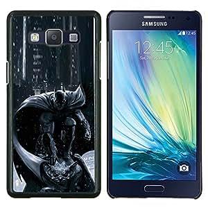 Carácter Pc Consola Gris Negro- Metal de aluminio y de plástico duro Caja del teléfono - Negro - Samsung Galaxy A5 / SM-A500