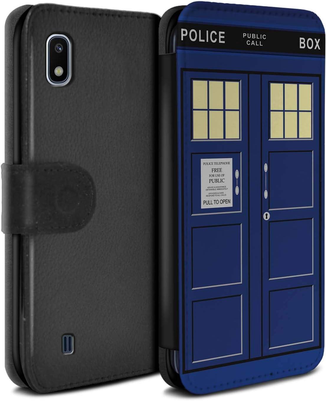 Doctor Who Cabine t/él/éphonique de Police Portefeuille Bleu