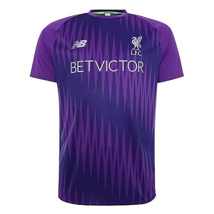 8a802a024a6 Amazon.com   New Balance 2018-2019 Liverpool Elite Pre-Match ...