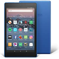 "All-New Fire HD 8 Tablet | 8"" HD Display, 16 GB, Marine Blue - with Special Offers"