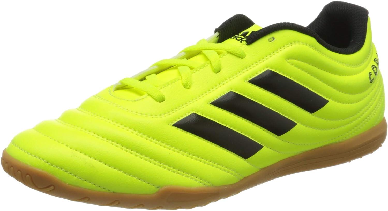 adidas Copa 19.4 in, Chaussure de Futsal, Solar Yellow-Core Black-Solar Yellow Multicolore Solar Yellow Core Black Solar Yellow 000