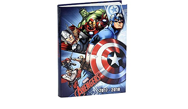 Agenda - Motivo: Avengers - Capitán América: Amazon.es ...