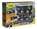 Creativity for Kids Monster Truck Custom Shop - Customize 4 Monster Trucks