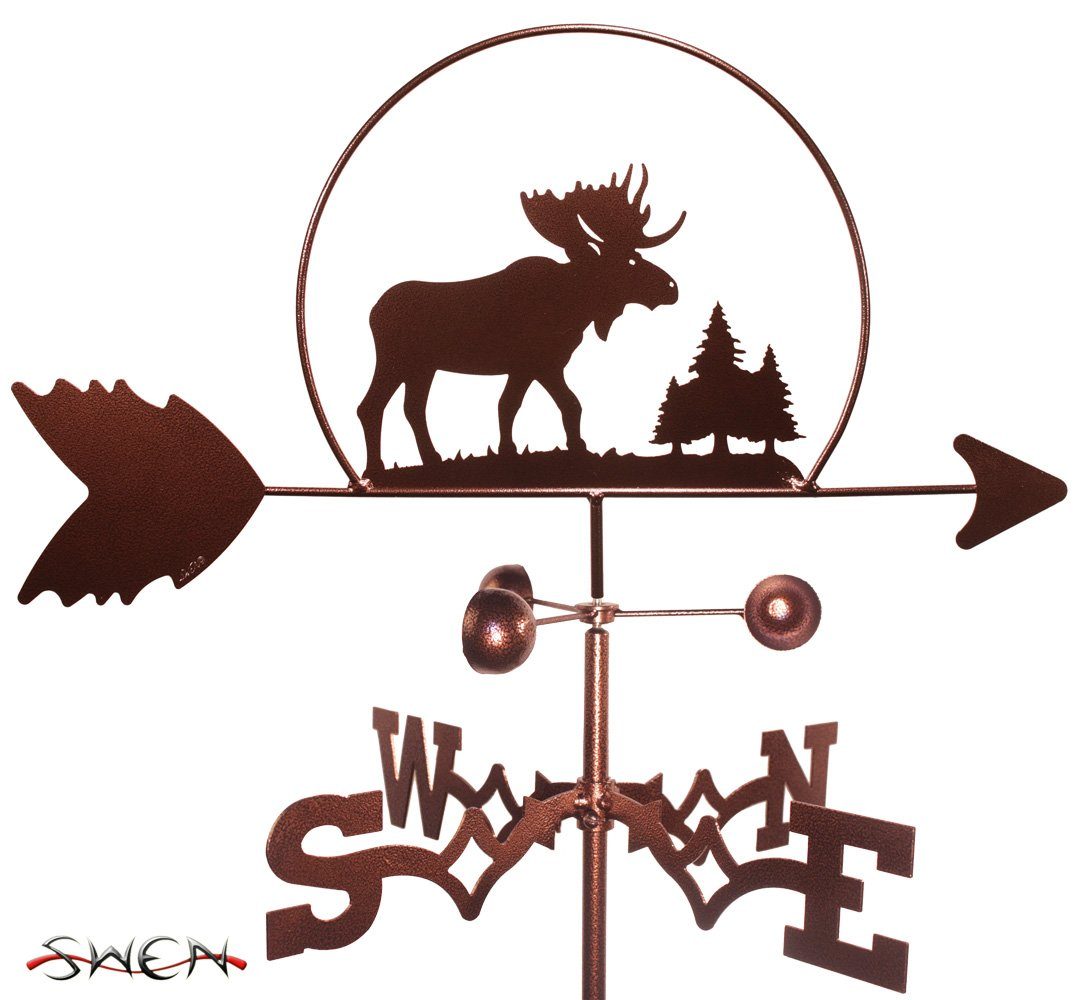 MOOSE WILDLIFE Weathervane by SWEN Products