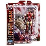 Marvel Select Action Figure Bleeding Edge Iron Man