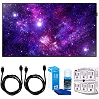 Samsung 49 DC49H - Edge-Lit LED Display for Business w/Accessories Bundle Includes, 2X 6ft. HDMI Cable, SurgePro 6-Outlet Surge Adapter with Night Light & Screen Cleaner for LED TVs