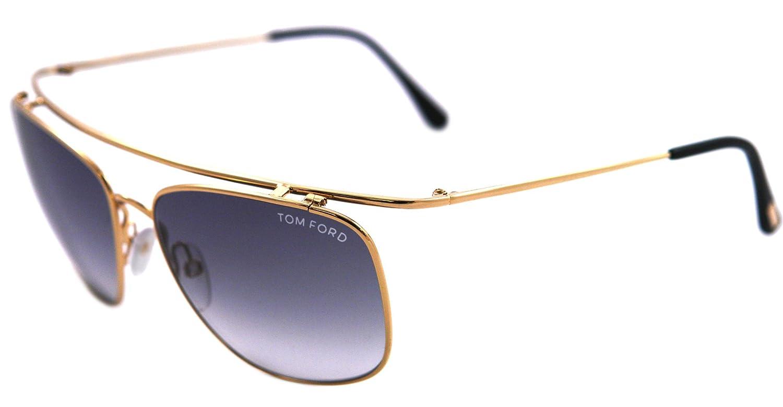Tom Ford 0192 Harry Gold / Grey Gradient Metallgestell Sonnenbrillen sbDZzArfi1