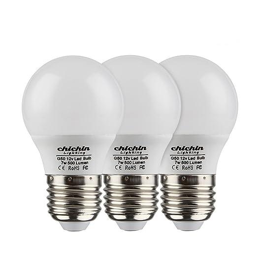Chichinlighting 12 Volt 7 Watt Led Light Bulb 12v Low Voltage Off