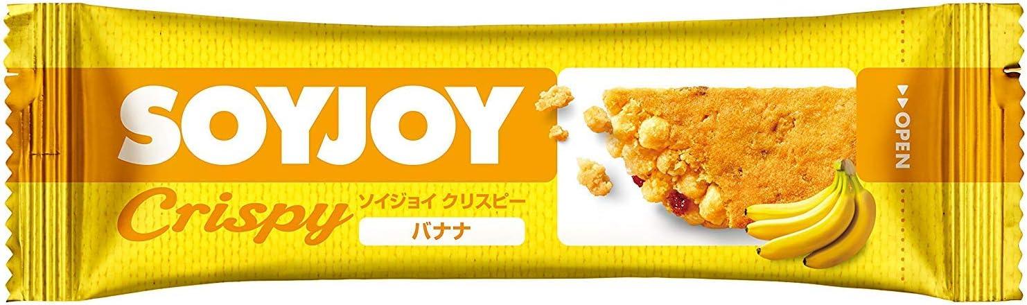 【大塚製薬】ソイジョイ クリスピー バナナ 25g×12個
