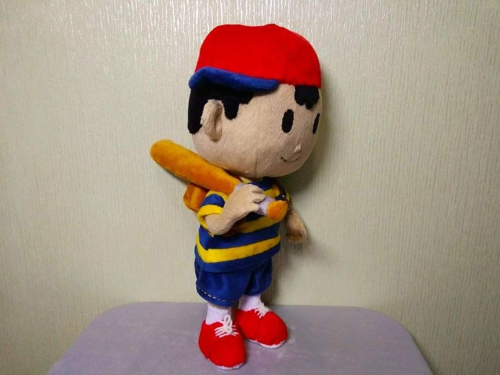 Custom toy inspired by Ness mash bros ultimate plush made to order 30 cm minky