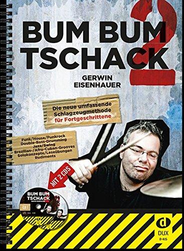 bum-bum-tschack-2-die-schlagzeugmethode-fr-fortgeschrittene-inkl-2-cds