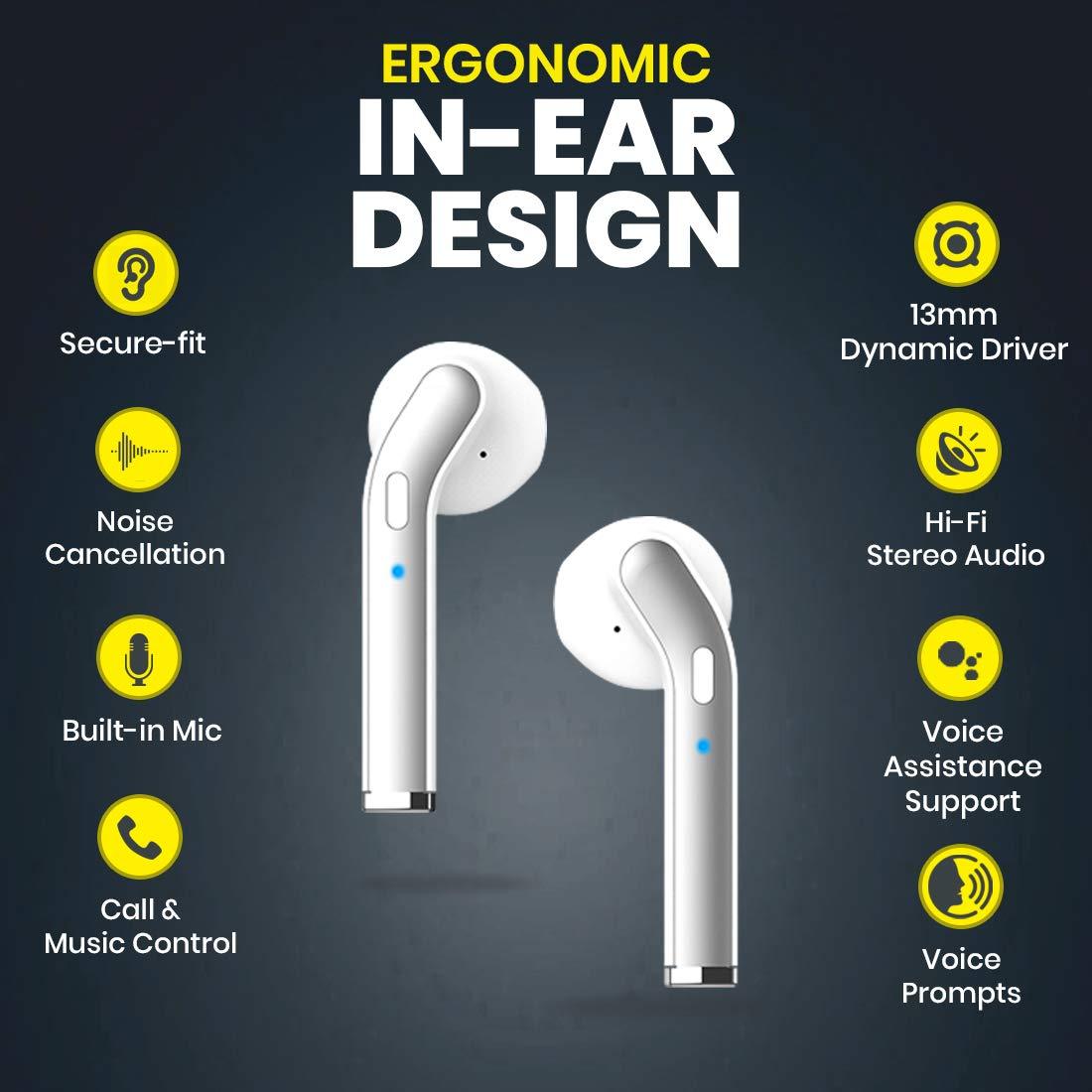 Ptron BassBuds Duo true wireless earbuds
