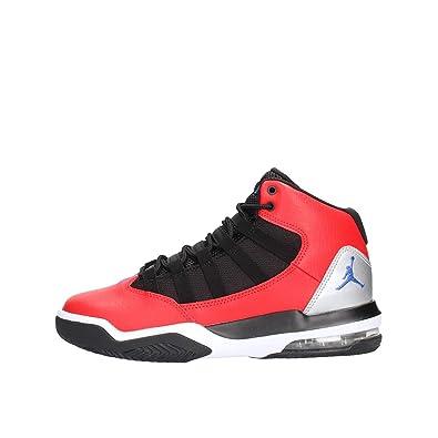 NIKE Jordan MAX Aura, Zapatillas de Baloncesto para Niños, (University Red/Hyper Royal/Black 600), 39 EU: Amazon.es: Zapatos y complementos