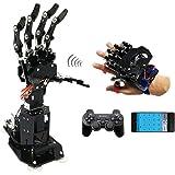 WFTD 7 Degrees of Freedom Bionic Synchronization Mechanical Palm Exoskeleton Wearing Somatosensory Robot Arm DIY Kit…