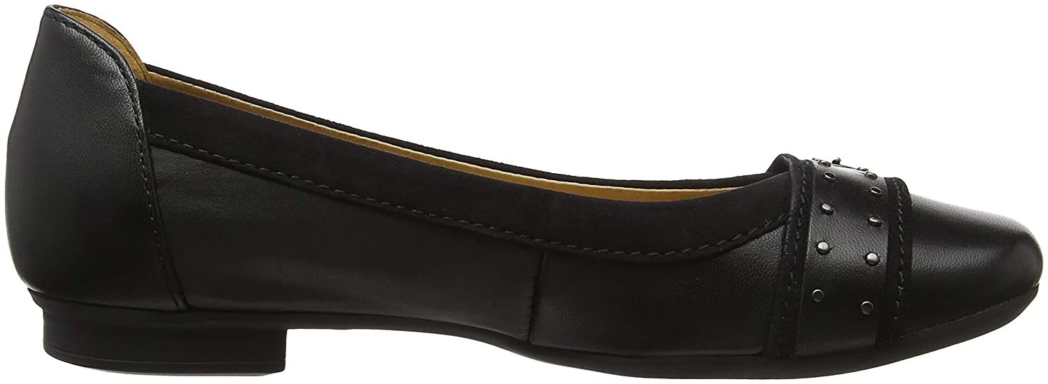 Gabor Womens Womens Michelle Casual Stud Buckle Ballet Pumps