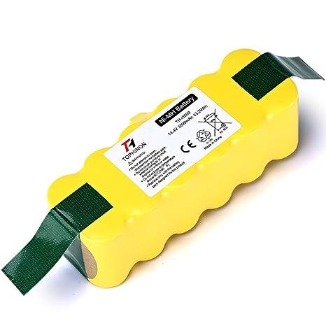 TOPHINON 14.4V 3000mAh Ni-MH Batería para Aspirador iRobot Roomba 500 510 520 530
