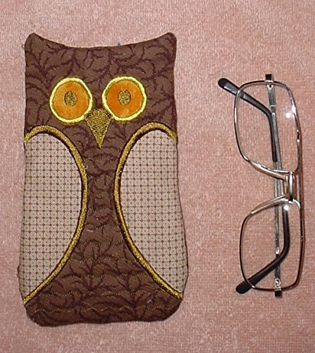 Fabric, padded owl eyeglass sun glass phone - Fabric Sunglasses