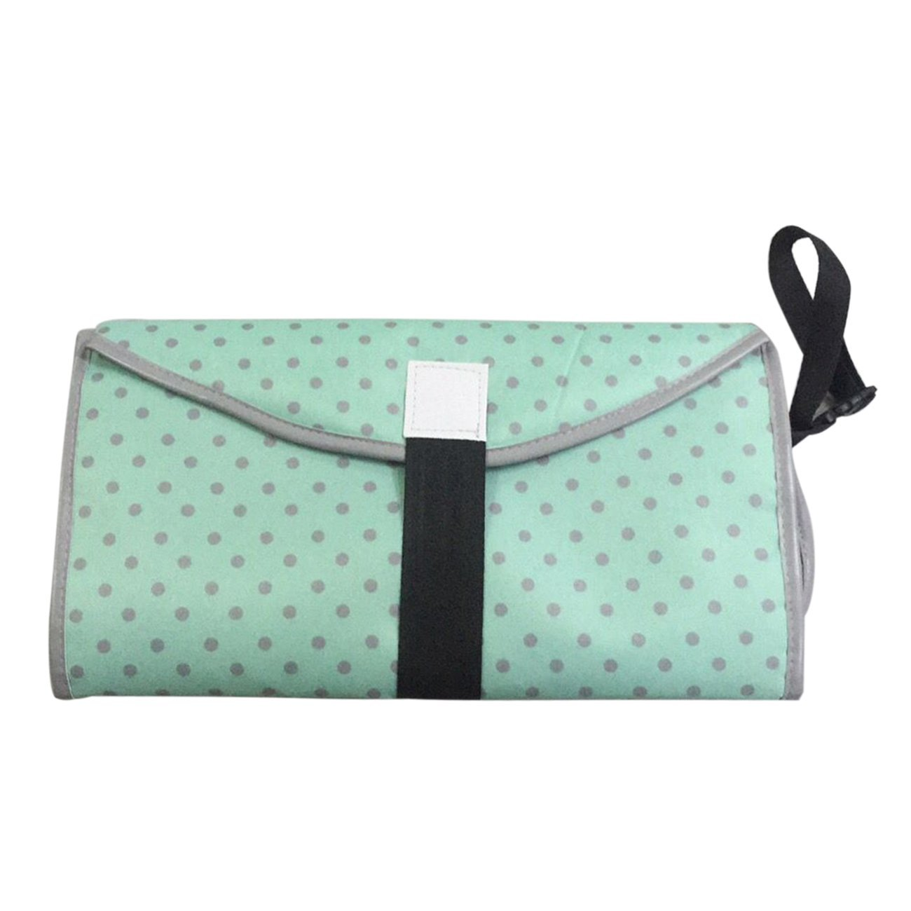 3-in-1 Diaper Clutch Waterproof Folding Baby Pad Portable Clean Hands Diaper Changing Pad Convenient Changing Station Redredfire