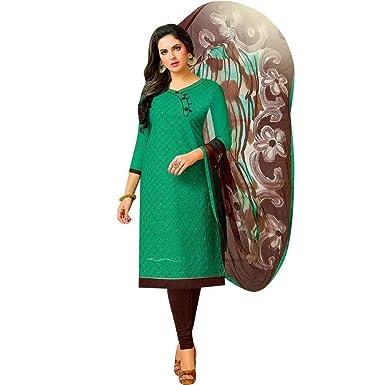 Ready To Wear Cotton Embroidered Salwar Kameez Suit Indian Pakistani Dress