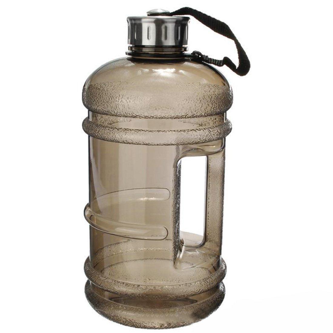 Botellas de agua deportivas de gran capacidad con tapa, 2,2 l ...