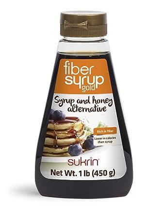 sukrin Fiber Sirup Oro, 1er Pack (1 x 450 ...
