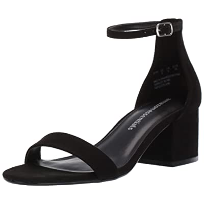 Amazon Essentials Women's Two Strap Heeled Sandal: Clothing