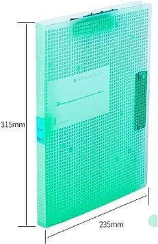 File Shelf ZDDAB A3 Carpeta Carpeta Plegable para Oficina de ...
