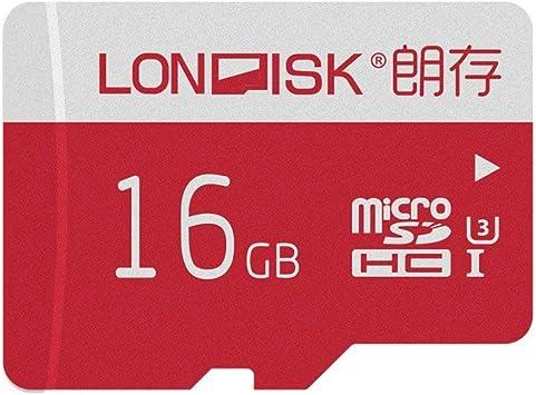 LONDISK Tarjeta de memoria 4K Micro SD de 16GB Class10 U3 para Smart Phone / Tablet PC con adaptador Micro SD (U3 16GB): Amazon.es: Electrónica