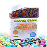 Toys : Water Beads for Kids-Rainbow Mix 8.8oz (about 40,000 beads) - Vase Filler,Plants Decoration and Sensory Water Toys
