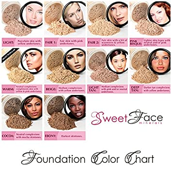 BULK REFILL FOUNDATION DARK TAN Mineral Makeup Powder Matte Bare Skin Sheer SPF 15 Cover 1 Pound