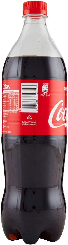 Coca-Cola Bevanda Analcolica, Frizzante - Confezione da 6 x 1 l - Totale: 6 Litri: Amazon.es: Hogar