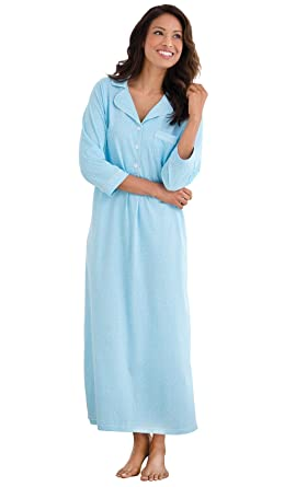 1cc9c5d663 PajamaGram Oh-So-Soft Long Nightgown Womens - Nightgowns for Women ...