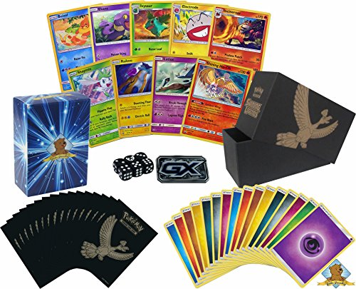 20 Pokemon Shining Legends Card Lot   With Shining Ho Oh   Gx Marker  Pack Of Sleeves Comes In Empty Elite Trainer Box  Plus Pack Of 45 Energy  Includes Golden Groundhog Deck Box