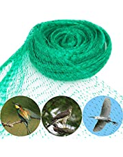 Bird Netting 33 Ft x 13 Ft Garden Netting Anti Bird Protection Plant Mesh Net Reusable Fencing Against Pigeon Seagull Chipmunk to Protect Fruit Tree/Flowers/Vegetables