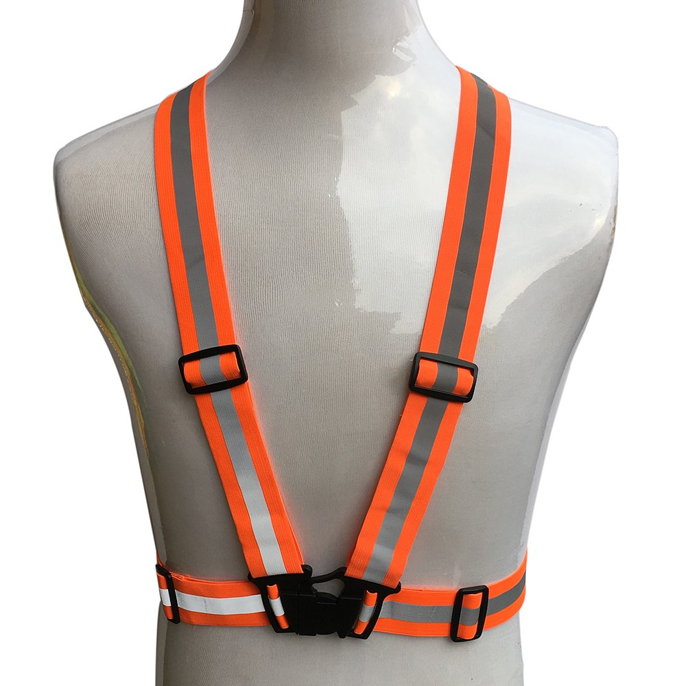 Adjustable /& Elastic ZOJO Reflective Vest Jogging 10, Neon Blue Cycling Safety /& High Visibility for Running Fits over Outdoor Clothing Walking Lightweight