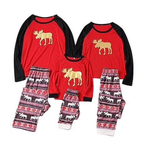 Conjunto de pijamas de Navidad a juego de la familia Conjunto de pijamas de pijama de