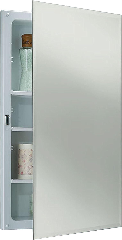 Jensen B773385X Bevel Mirror Medicine Cabinet, 16