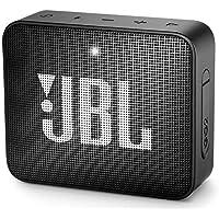 JBL GO 2 Portable Bluetooth Waterproof Speaker, black,...
