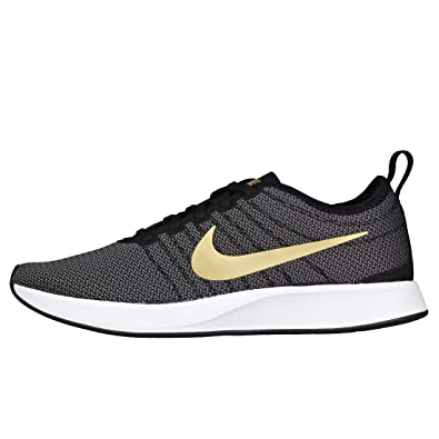buy popular bcccb 40a32 Nike Women s W Dualtone Racer Se Running Shoes, Multicoloured  (Black Metallic Gold-