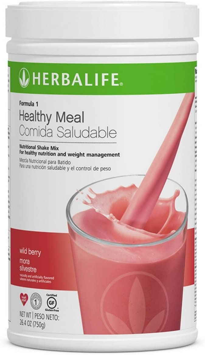 Wild Berry 1 Healthy Meal Nutritional Shake Mix (10 Flavor)