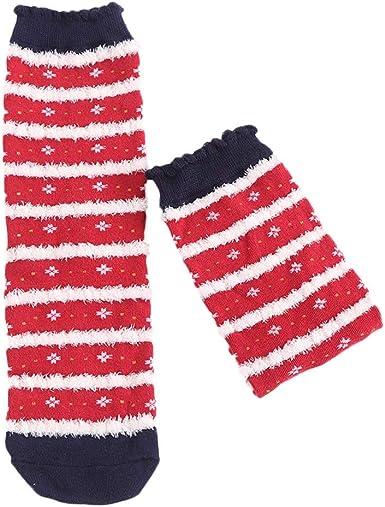 Rawdah_Calcetines Mujer Invierno Divertidos Termicos Algodon Calcetines De Algodón De Las Mujeres De Navidad Multi-Color De La Mujer Calcetines De Invierno: Amazon.es: Ropa y accesorios