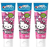 Best Toothpaste For Gums - Kid's Crest Hello Kitty Bubblegum Flavor Toothpaste 4.2 Review