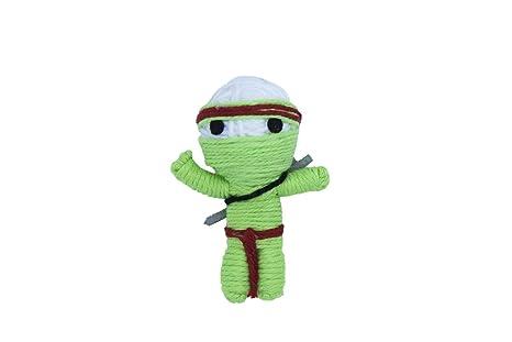 Cadena muñecas gato juguetes Takeshi el Ninja (Pack de 3 ...